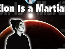 Elon is a Martian - Maria Myrosh single cover