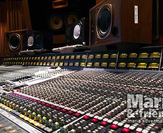mix console