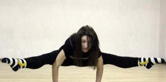 Maria Myrosh contemporary dance workout