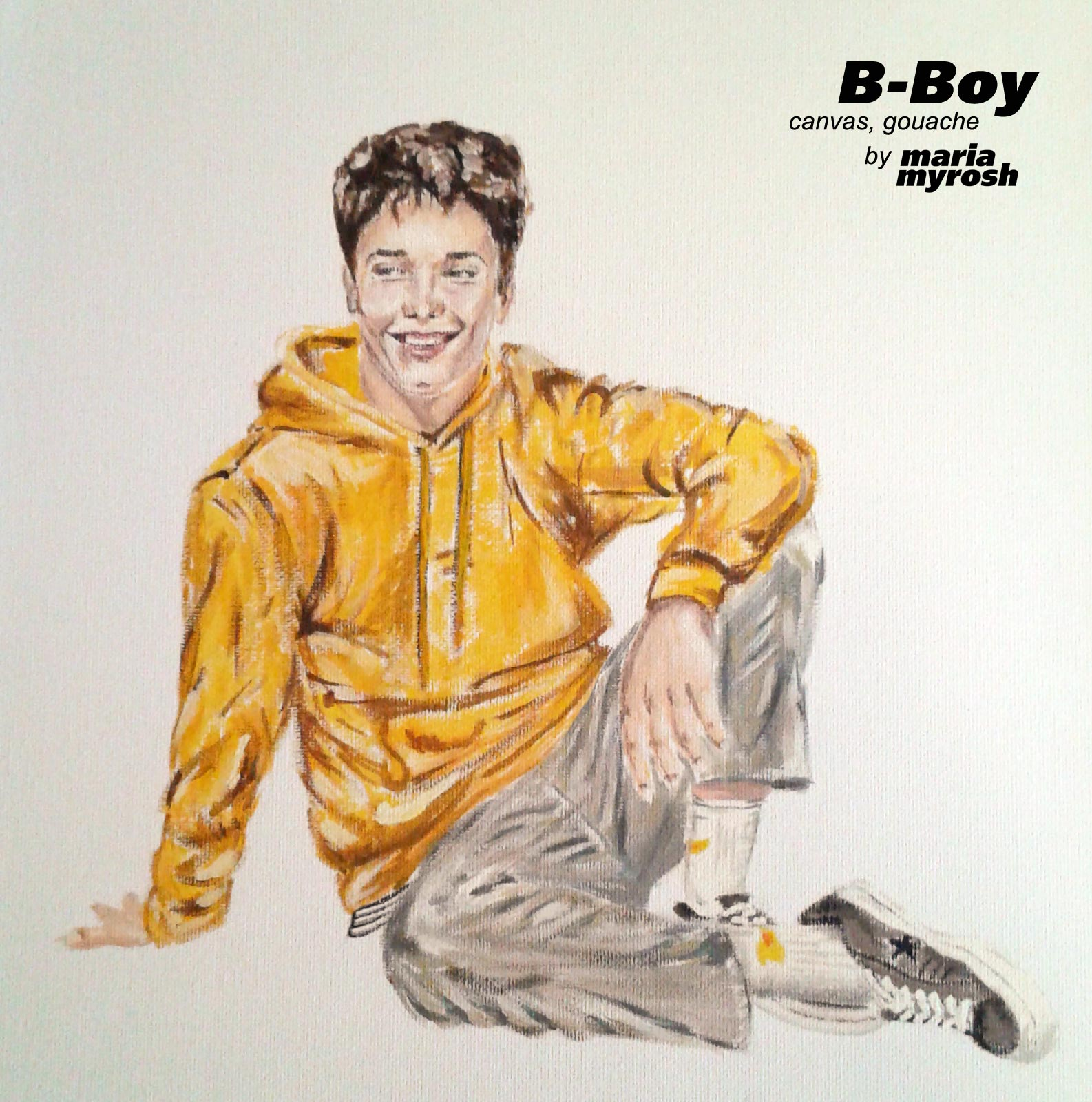 B-boy by Maria Myrosh