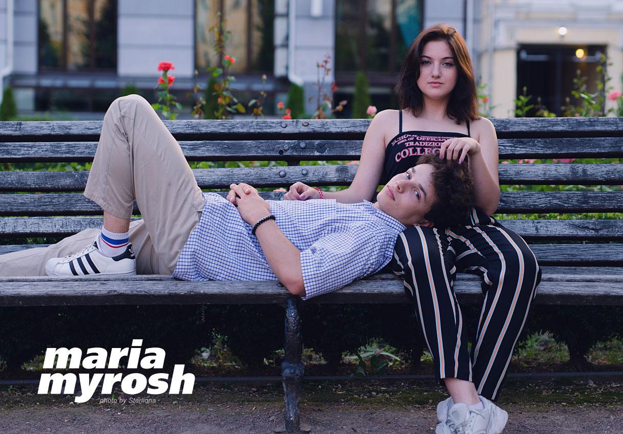Maria Myrosh singer love story