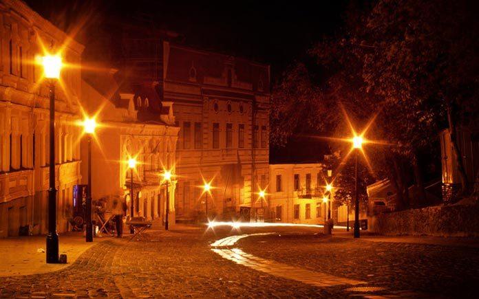 Night Kyiv, Ukraine
